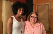 Sarah Jones and Sharon Salzberg
