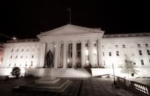 The US Treasury in Washington. Failure to raise the debt ceiling could lead to the US government to default.