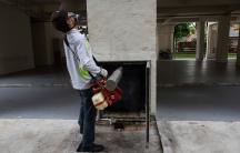 Zika fumigation in Singapore