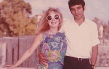 Claire Hajaj's parents, Deanne and Mahmoud Hajaj, honeymoon in Israel in 1969.