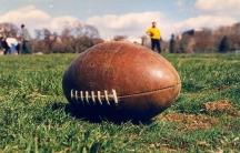 A football