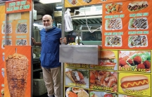 Adel Saeed moved to the US from Egypt 41 years ago. He has owned and operated a halal food truck in New York City for 20 years. He says he will never break his fast, even he is offered