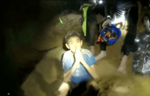 boys trapped in a cave in thailand await rescue