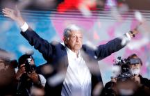 Mexicos president elect Andrés Manuel López Obrador