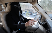 a woman driver in saudi arabia