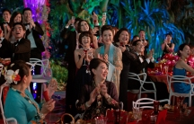 Mother of the groom Eleanor Sung-Young (Michelle Yeoh)