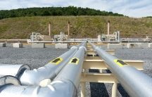 Shale gas pipes