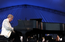 Composer Marvin Hamlisch performs in 2011.