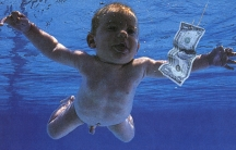 "The cover of Nirvana's 1991 album ""Nevermind."""