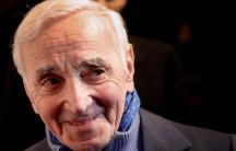 Charles Aznavour, beloved French crooner