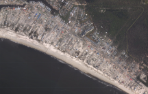 Mexico Beach, Florida, after Hurricane Michael