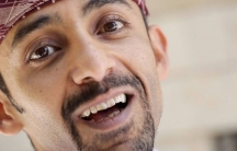 Hisham al-Omeisy, narrator of 'Guess my country,' a video by Mai Noman for the BBC