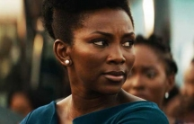 Side profile of Nigerian actress Genevieve Nnaji.