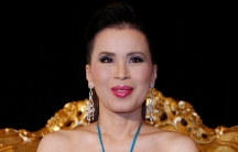 Thai Princess Ubolratana Rajakanya is shown in a close-up protrait posing during a news conference in a 2008 file photo.