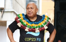 Fiji's Prime Minister Josaia Voreqe Bainimarama recently led a rally in support of this year's UN climate summit in Germany, at which Fiji will be presiding.