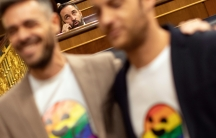 Santiago Abascal, leader of far-right party VOX in Spain