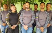 venezuelan ex military men in colombia