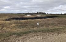 Keystone pipeline spill