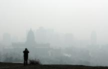 Smog Salt Lake City, Utah