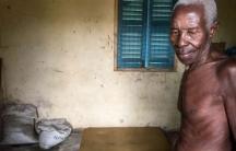 Okyeame Ampadu, an 80-year-old farmer in the Volta Region of Ghana