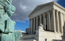 The building of the US Supreme Court is pictured in Washington, DC, Jan. 19, 2020.