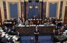 A video grab of the US Senate