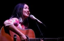 Vietnamese singer Do NguyenMaiKhoi sings at a performance in Hanoi, Vietnam, May 21, 2016.