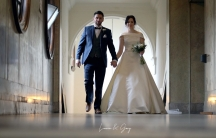 Lauren Holden and Gary Cripps made some quick changes to their wedding in light of the coronavirus.
