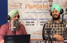 Harjot Singh Khalsa (left) andRajkaranbir Singh are hosts ofPunjabi Radio USA, which provides valuable information to immigrant workers.