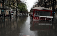 A deserted Rambla de Catalunya street is pictured during the outbreak of the coronavirus disease (COVID-19), inBarcelona,Spain, March 31, 2020.
