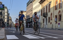 """Milan's """"Open Streets"""" plan makes way for more cyclists and pedestrians."""