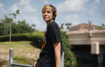 Jacob Cuenca, 18, a registered Republican, poses outside his home in Homestead, Florida, on May 21, 2020.