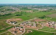 Iowa farmland loss to development
