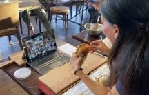 Lorena Cantarovici, CEO of Maria Empanada, has begun teaching empanada-making classes via Zoom to help keep her business solvent during the pandemic.