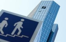 The skyscraper headquarters of Germany's Deutsche Bank are pictured in Frankfurt, Germany, Sept.21, 2020.
