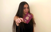 Heba Nabil Iskandarani received her new passport in the mail in September after a long process of researching her family's history and finding documentation.