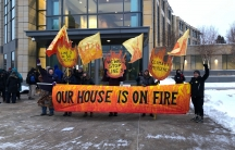 Enbridge Energy Line 3 protest