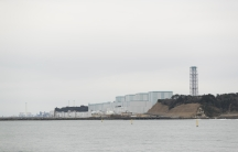 This photo shows the Fukushima Daini nuclear power plant situated in Naraha and Tomioka towns, Fukushima prefecture, northeastern Japan, Feb. 26, 2021.