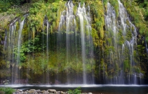 """Mossbrae Falls in the Shasta Cascade area in Dunsmuir, California. In many spiritual traditions, like the Lakota in the US, water represents """"the living relationship between you and I and all things."""""""