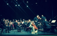 JOrchestra and the musicians of the Savonlinna Music academy.