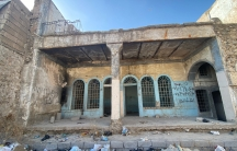 The outside of an old Jewish home in Mosul.