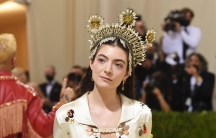 """New Zealand singer and songwriterLorde attends The Metropolitan Museum of Art's Costume Institute benefit gala celebrating the opening of the """"In America: A Lexicon of Fashion"""" exhibition on Sept. 13, 2021, in New York City."""