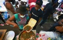 A Haitian vendor