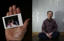 Kim Chang-nam, 71, who was one of the participants in the latest inter-Korean reunion for families separated by the 1950-53 Korean War
