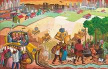 """Land Grab"" by Federico Boyd Sulapas Dominguez"