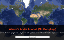 addis ababa ethiopia map quiz