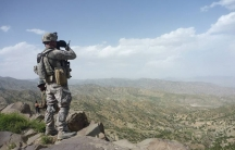 Sgt. Thompson, Afghanistan, May 2010