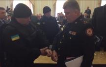 Ukraine police arrest emergency head