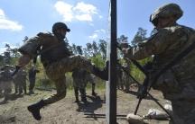 Ukraine US military training