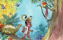 Cocori children's book about black Costa Rican boy